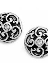Sil/Stn Betsey Mini Post Earrings
