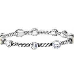 Brighton Brighton Monte Carlo Hinged Bracelet-Pearl