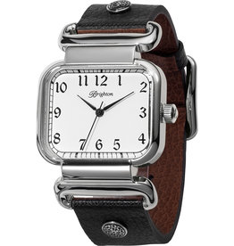 Brighton Brighton Watch Montecito Reversible- Black/Brown