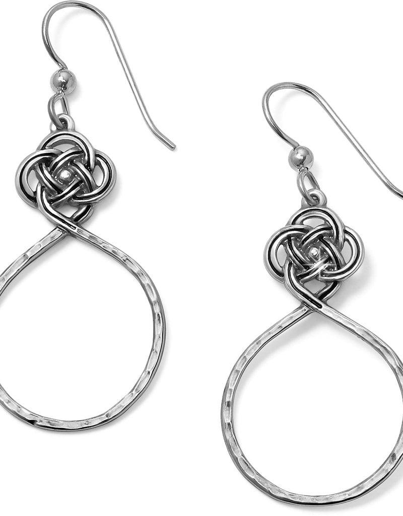 Brighton Brighton Earrings Interlok Petite Knot Circle French Wire