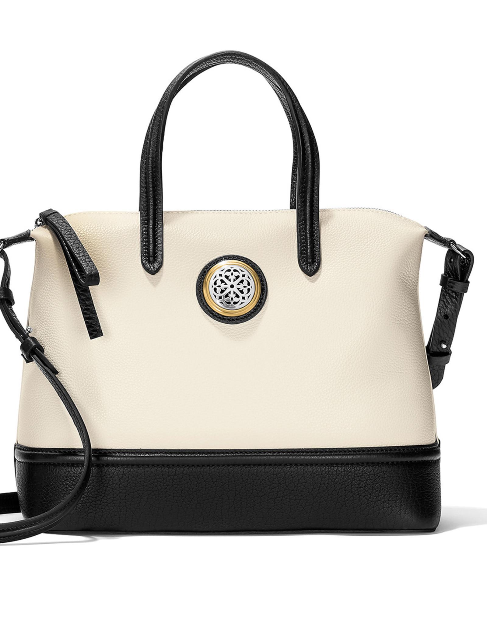 Brighton Brighton Handbag Audrey Satchel Bl/White