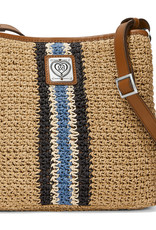 Brighton Brighton Handbag Posie Cross Body Bucket  Wheat-Multi