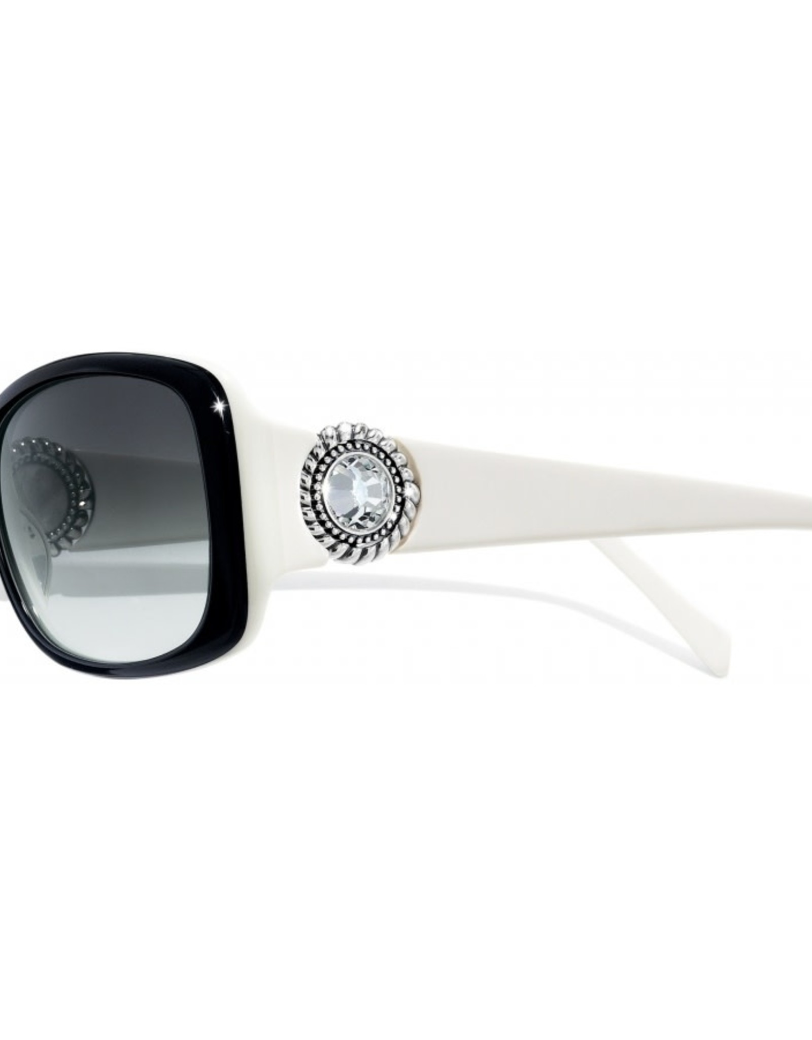 Brighton Brighton Sunglasses-Twinkle-Black/White