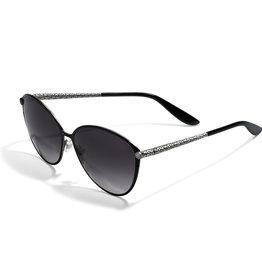 Brighton Brighton Sunglasses Ferrara Gatta  Black-Silver
