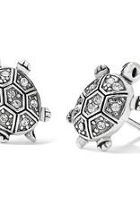 Brighton Brighton Earrings Fortune Turtles Mini Post  Silver