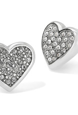 Brighton Brighton Earrings Eden Hearts Mini Post  Silver