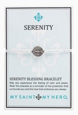 My Saint My Hero My Saint My Hero- Serenity Blessing Bracelet