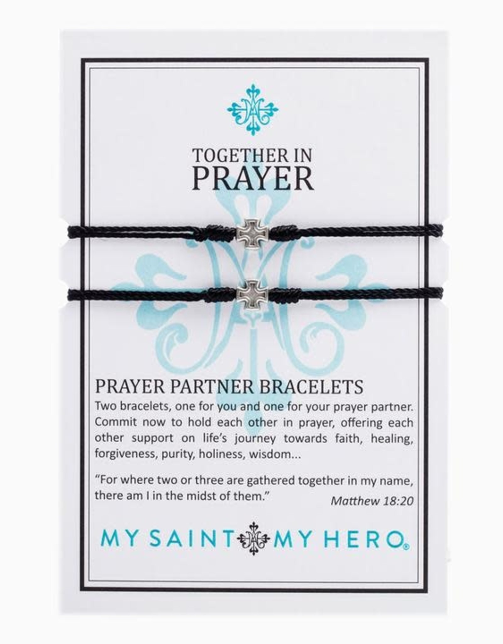 My Saint My Hero My Saint My Hero- Prayer Partner Bracelet