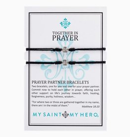 My Saint My Hero My Saint My Hero- Prayer Partner Bracelet