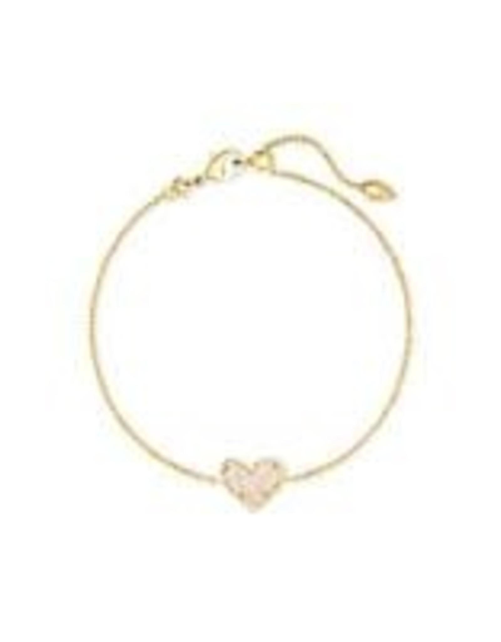 Kendra Scott Kendra Scott Ari Heart Delicate Bracelet
