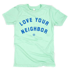 Project 615 Project 615- Love Your Neighbor Tshirt (Mint)