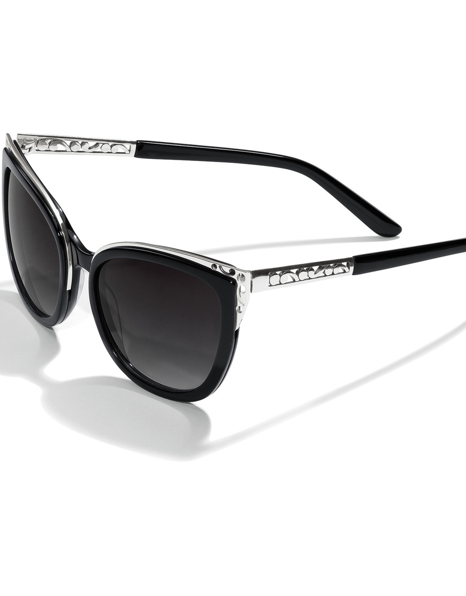 Brighton Brighton Sunglasses Contempo Ice Sun Black/Silver