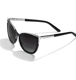 Brighton Brighton Sunglasses Contempo Ice Sun Black/Silver