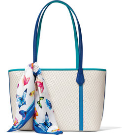 Brighton Brighton Tote Pearly Scarf  White-Multi