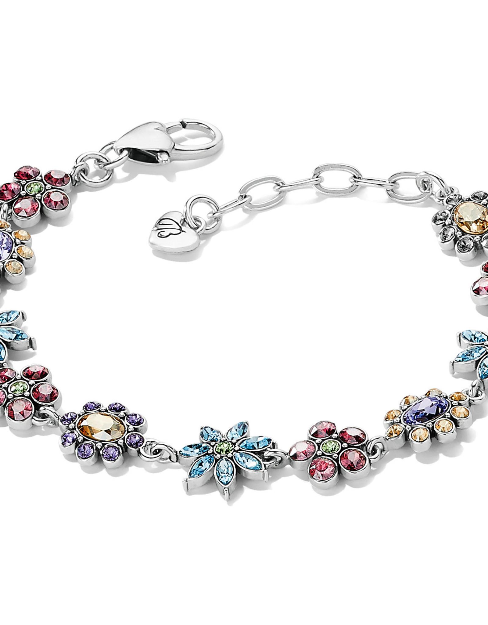 Brighton Brighton Bracelet Trust Your Journey Garden  Silver-Rose-Blue