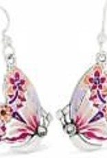 Brighton Brighton Earrings Wingfield French Wire Silver-Pink Multi