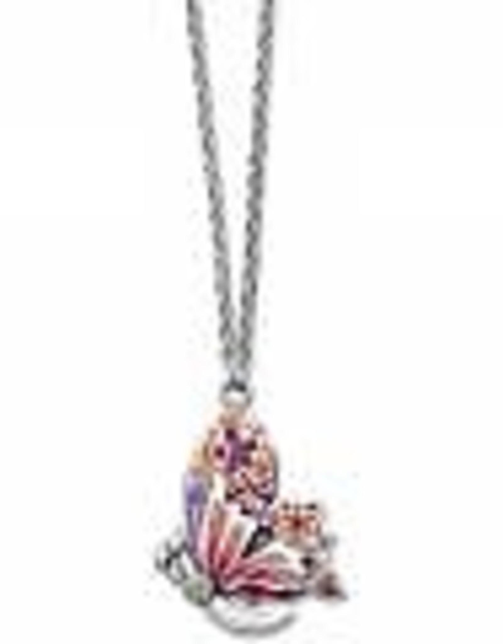 Brighton Brighton Necklace Wingfield Short Silver-Pink Multi
