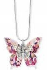 Brighton Brighton Necklace Wingfield Convertible Silver-Pink Multi