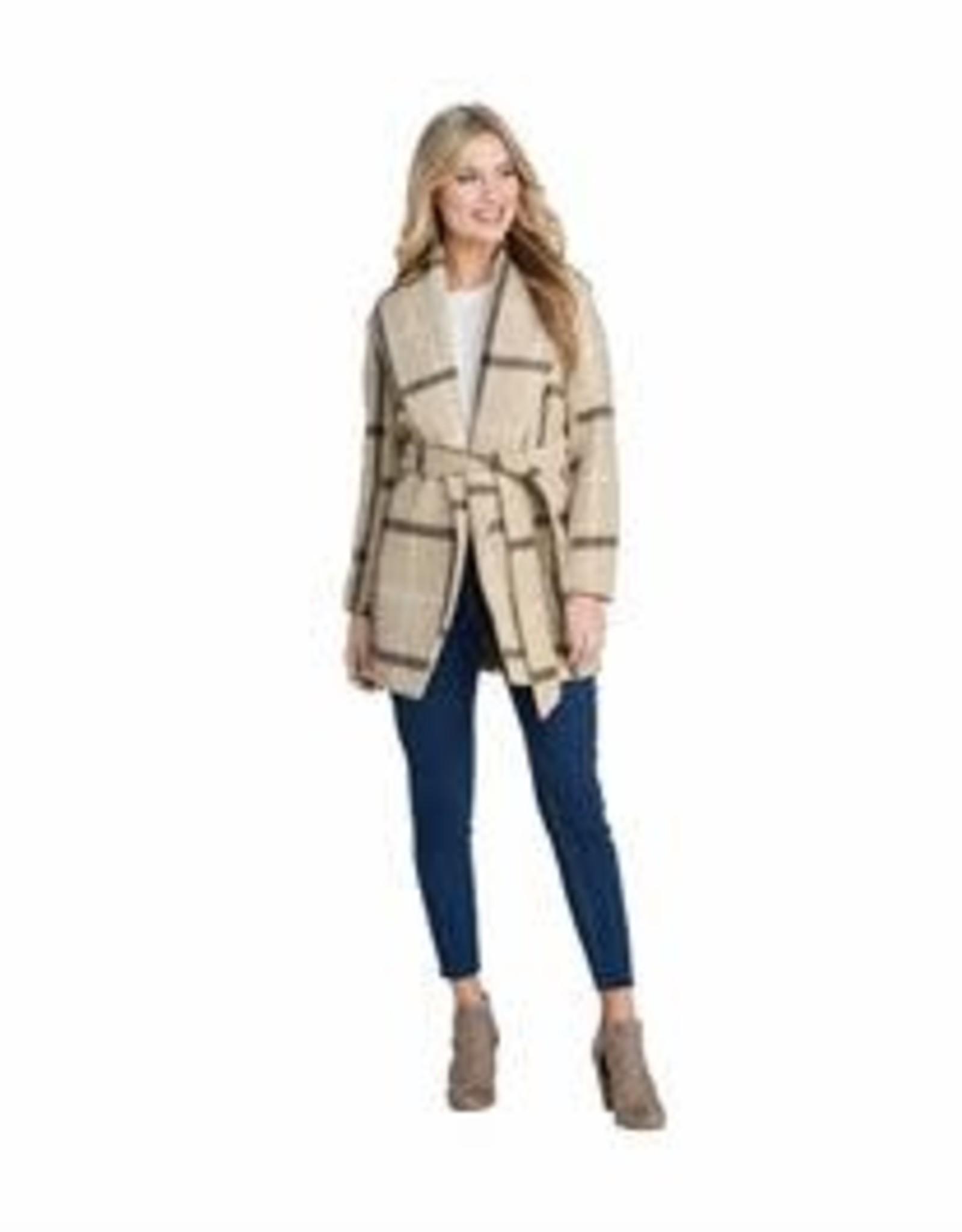 MudPie MudPie Winchester Plaid Coat