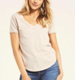 Z Supply Z Supply Cotton Vneck Tshirt
