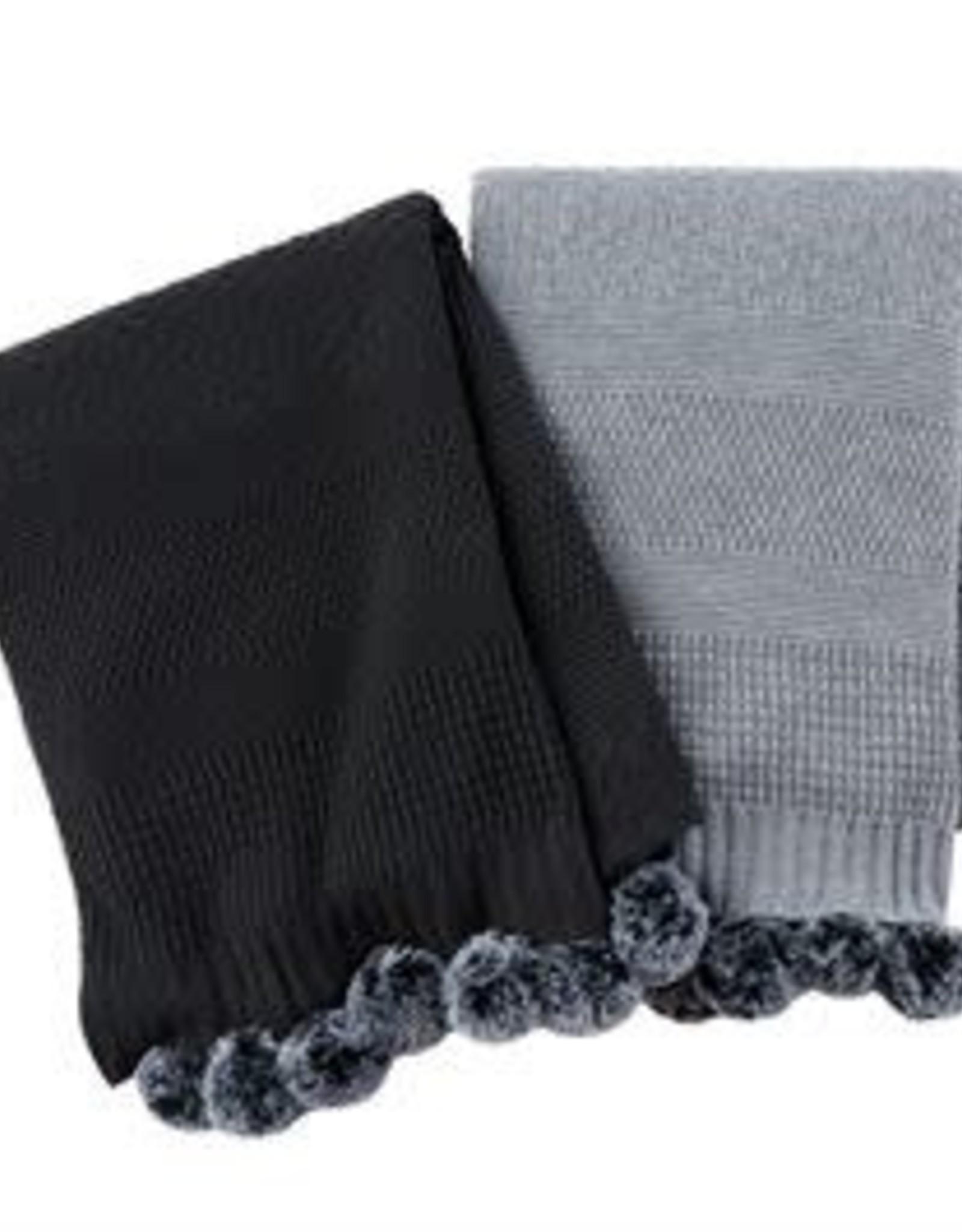 MudPie MudPie Pom Blanket