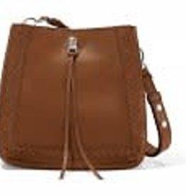 Brighton Brighton Handbag Georgia Convertible Hobo- Bourbon