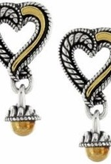 Brighton Brighton Earrings  Callie Small Post silver