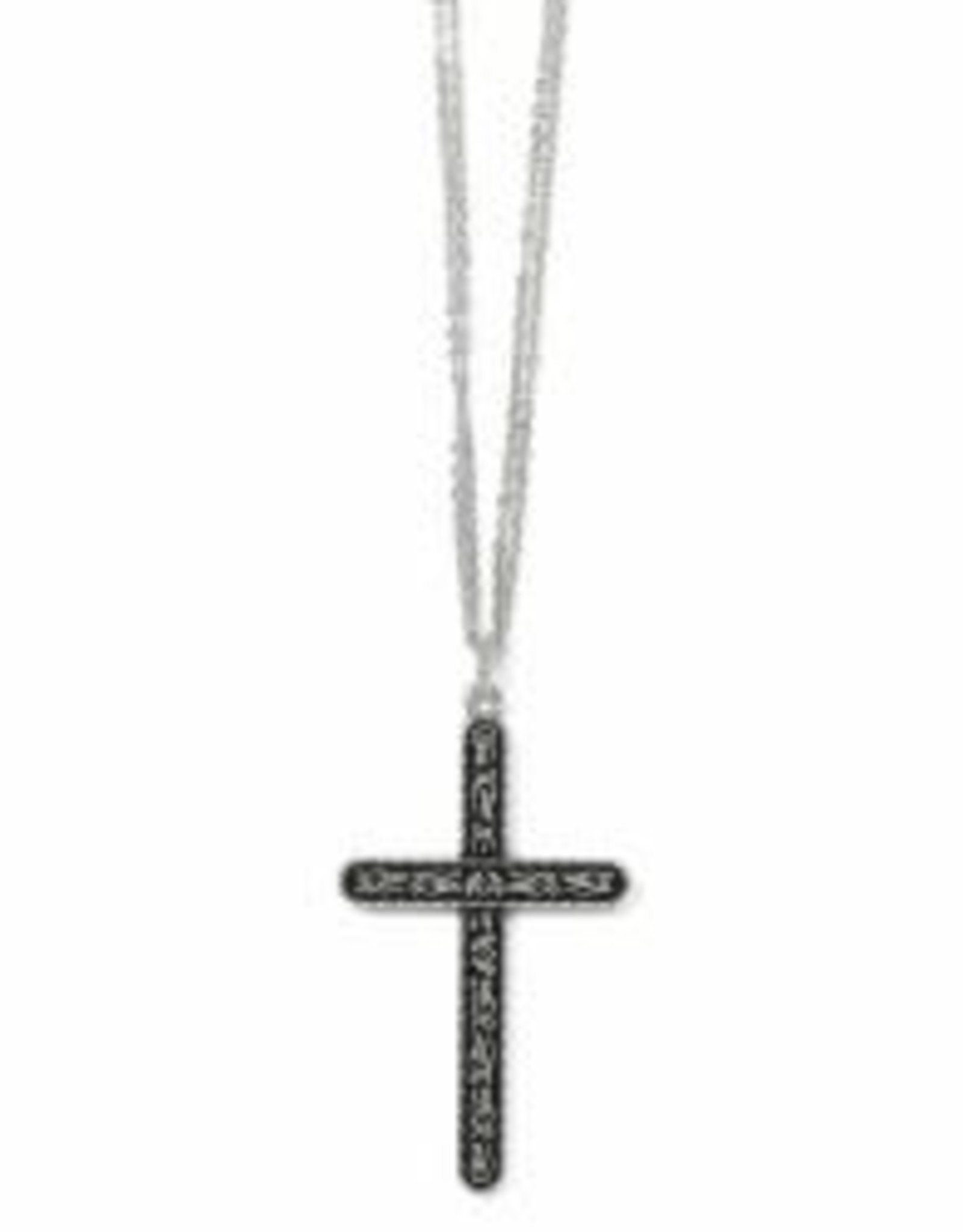 Brighton Brighton Necklace- Midnight Garden Cross Convertible