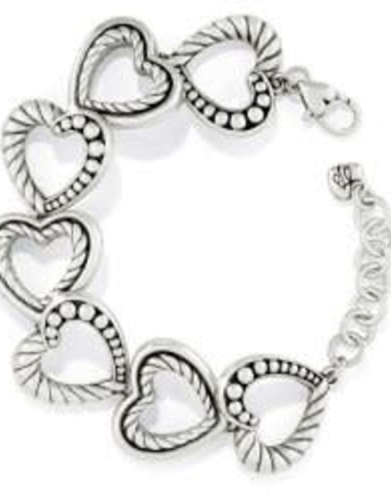 Brighton Brighton Bracelet Connected By Love  silver