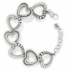 Brighton Brighton Bracelet Connected By Love  silver