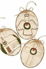 MudPie MudPie Farmhouse Ornament