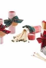 MudPie MudPie Tartan Gift Matches