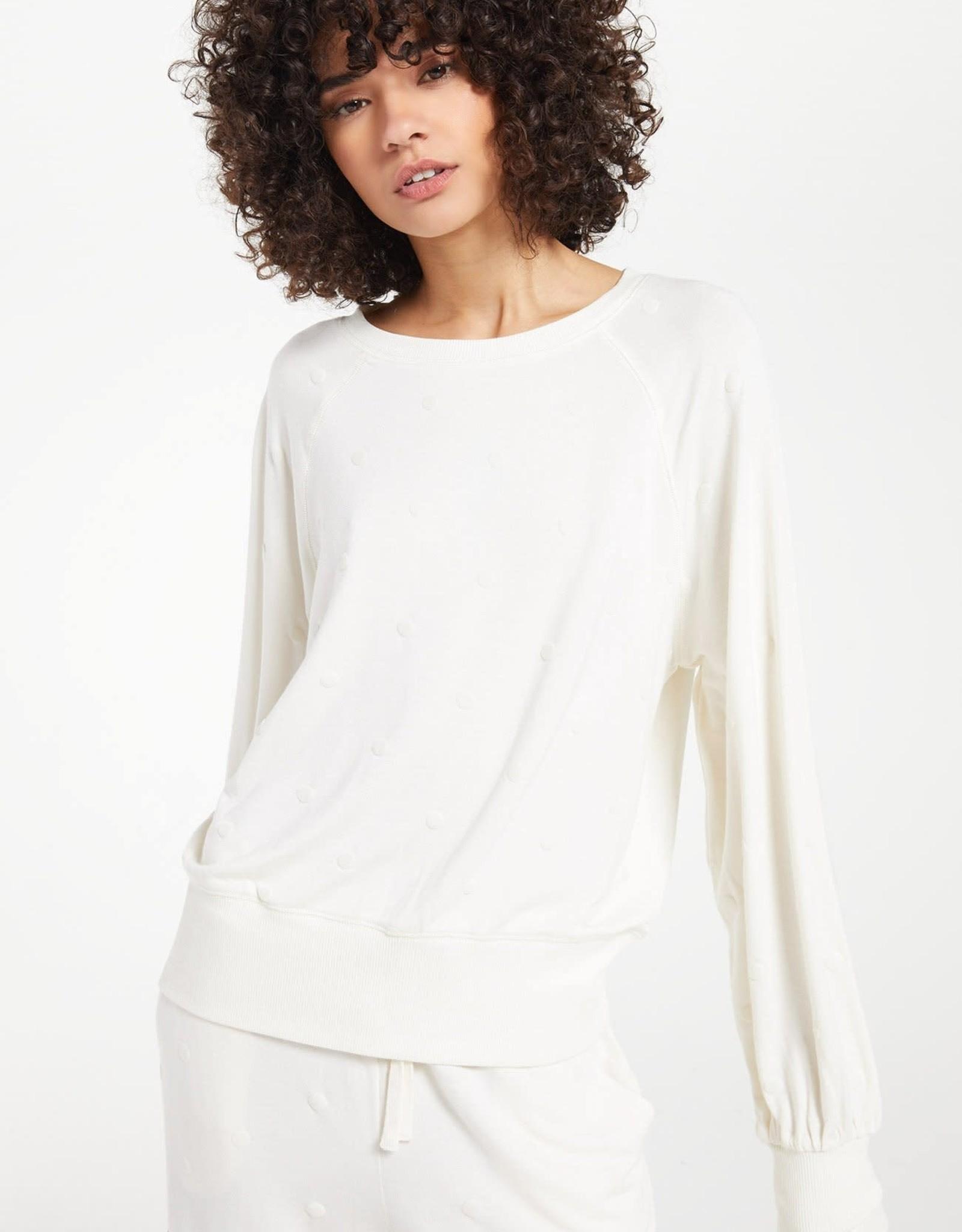 Z Supply Z Supply Brook Dot Long Sleeve Shirt