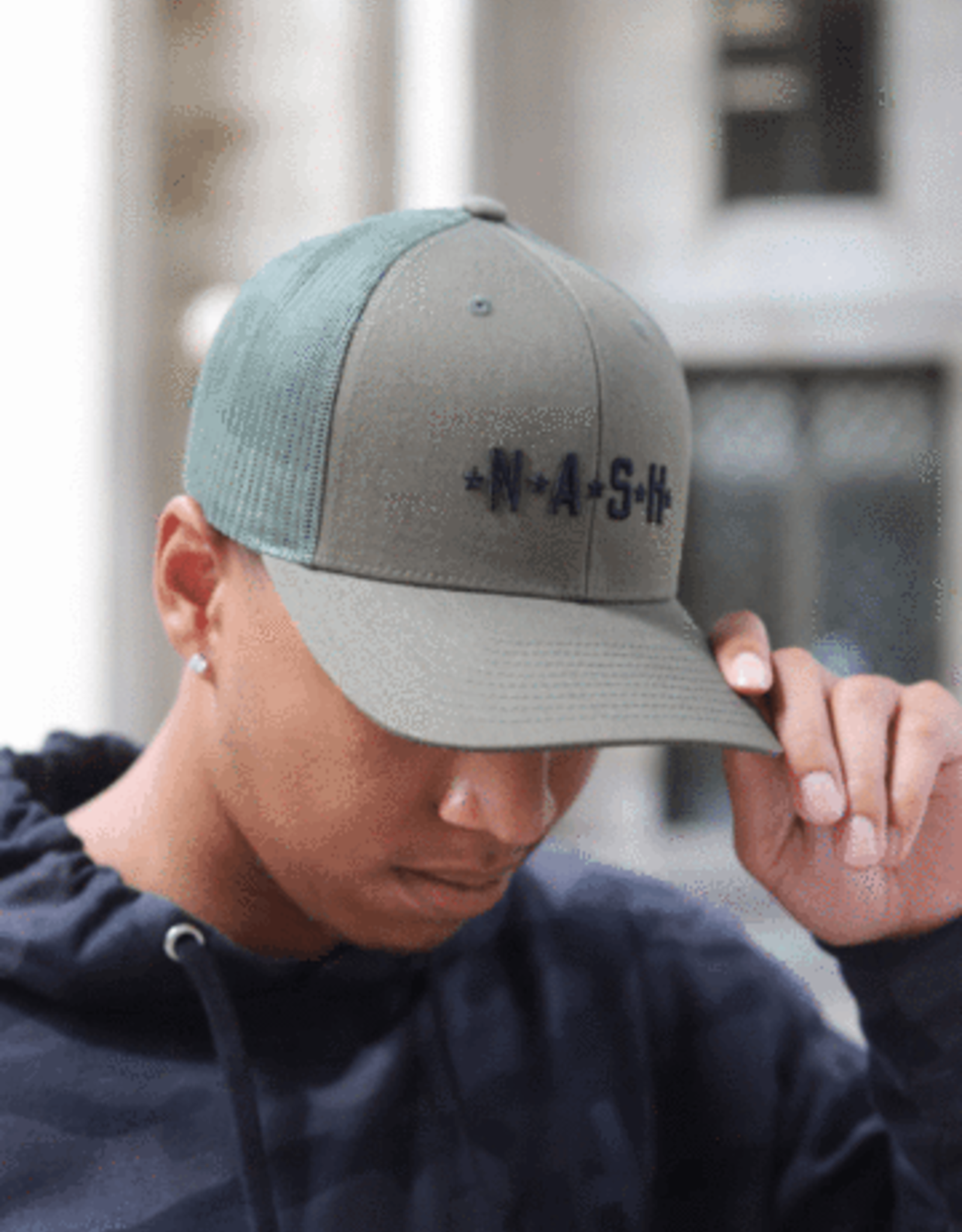 Nash Collection The Nash Collection Trucker Hat- Military Green