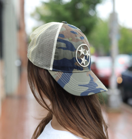 NASH The Nash Collection Vintage Trucker- Beau Camo TriStar