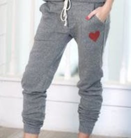 The Light Blonde Heart Joggers