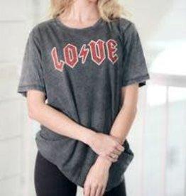 PRESALE! The Light Blonde- LOVE Acid Wash Rocker Tshirt
