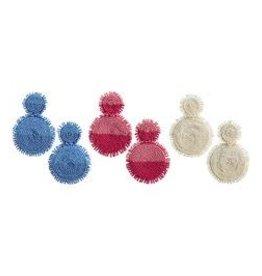 MudPie MudPie Tonal Beaded Earrings
