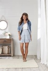MudPie MudPie Susie Flounce Skirt