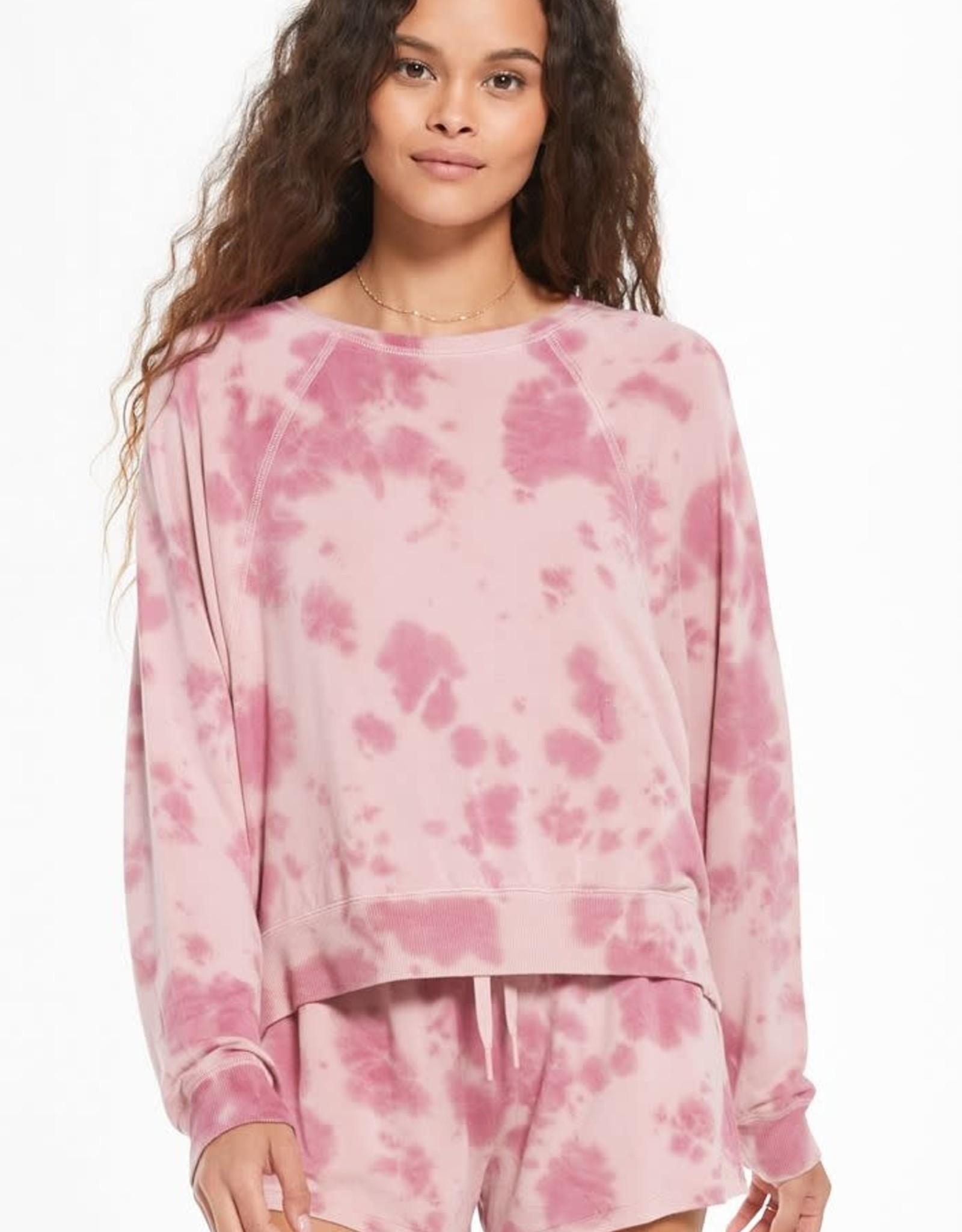 MudPie Z Supply Sleep Over Sweatshirt