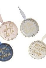 MudPie MudPie Trinket Tray Jewelry Set