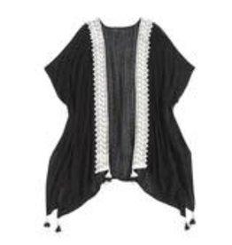 Shiraleah Fia Kimono- Black