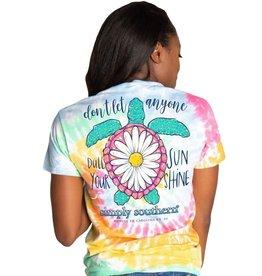 Simply Southern Simply Southern Tshirt- Sunshine Tie Dye