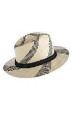 Shiraleah Ventura Hat- Black/Natural