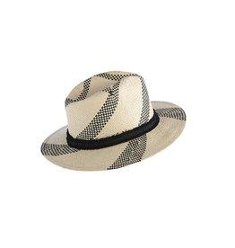 Shiraleah Ventura Hat- Black/Natural