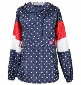 Simply Southern Simply Southern 1/4 Zip Rain Jacket-USA