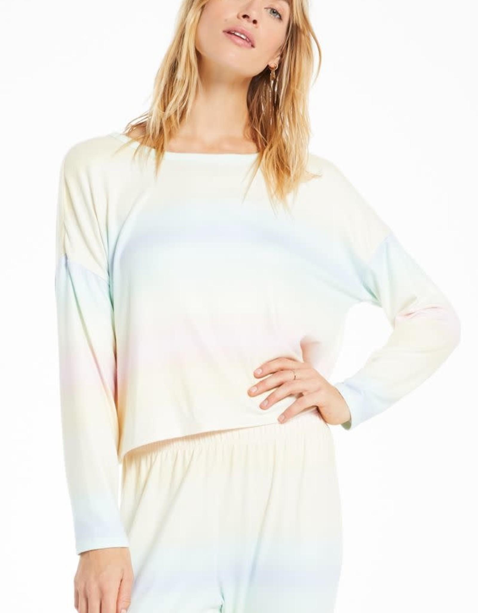 Z Supply Z Supply Skylar Rainbow Shirt