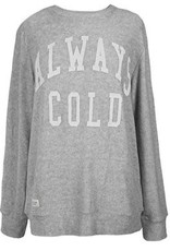 Simply Southern Simply Southern Terry Crewneck Pullover- Always Cold