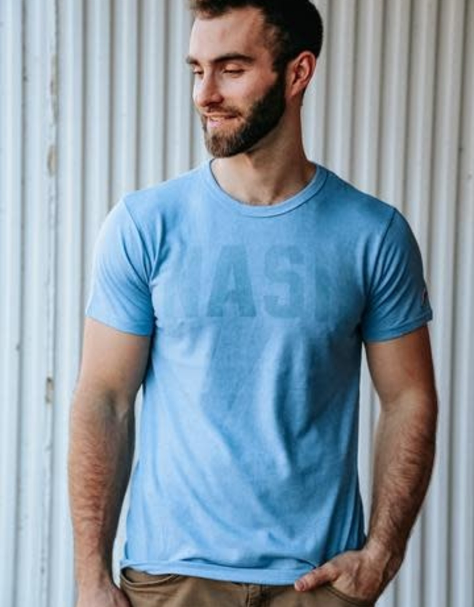 Nash Collection The Nash Collection- NASH Blue Jersey Tshirt
