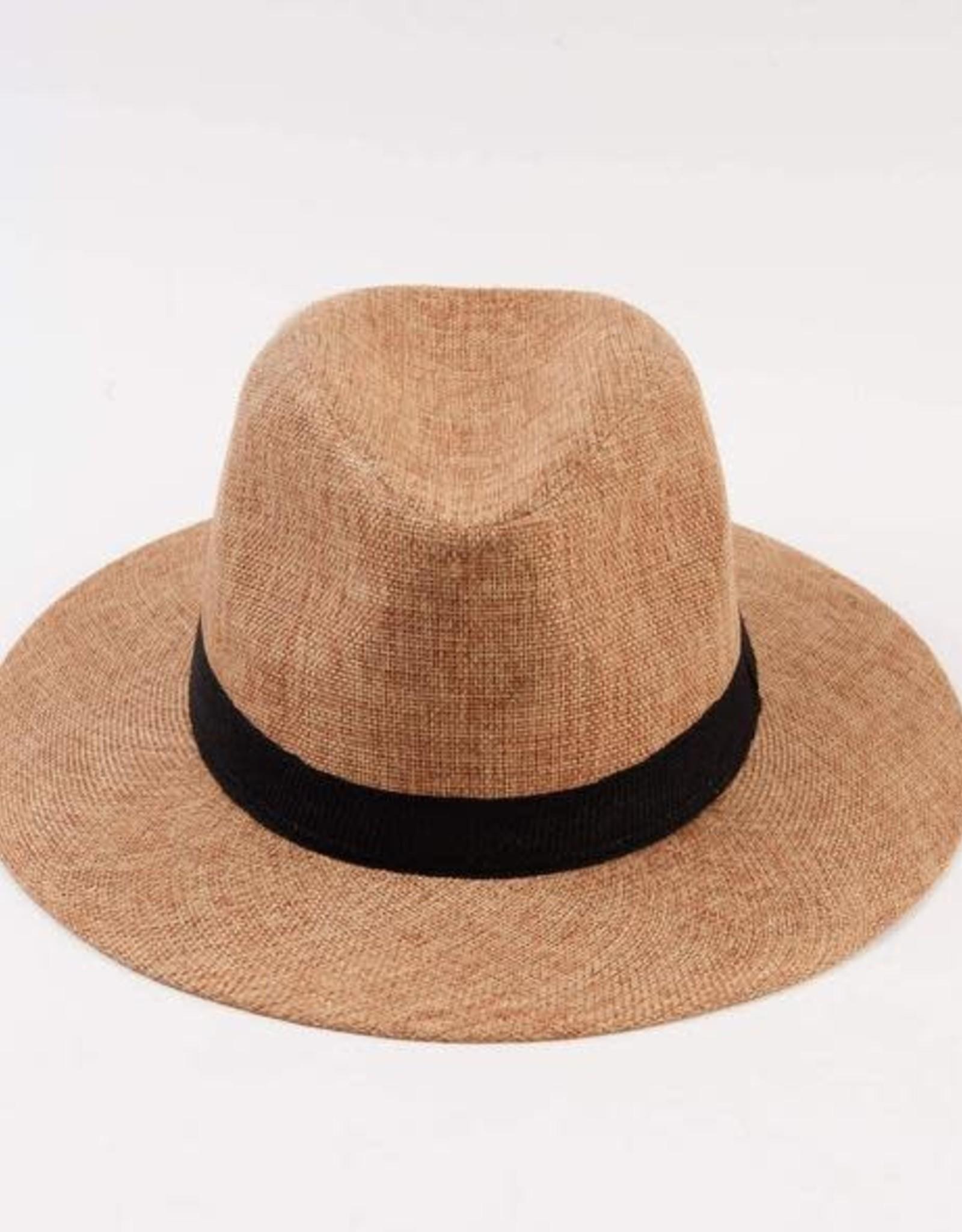 Lucca Couture Alavaro Hat- Natural